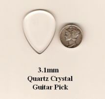 Quartz Crystal Standard Guitar Picks