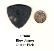 Blue Jasper Bass Guitar Picks