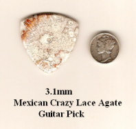 Crazy Lace Agate Bass Guitar Picks