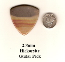Hickoryite Bass Guitar Picks