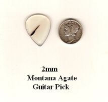 Montana Agate Standard Guitar Picks