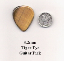 Tiger Eye Standard Guitar Picks