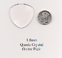 Quartz Crystal Bass Guitar Picks