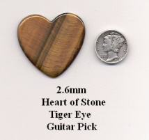 Heart of Stone Guitar Picks