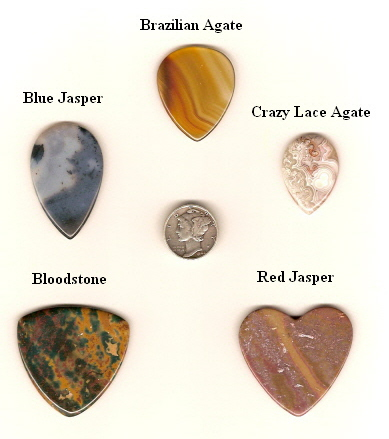 Five Real Rock Stone Pick Styles